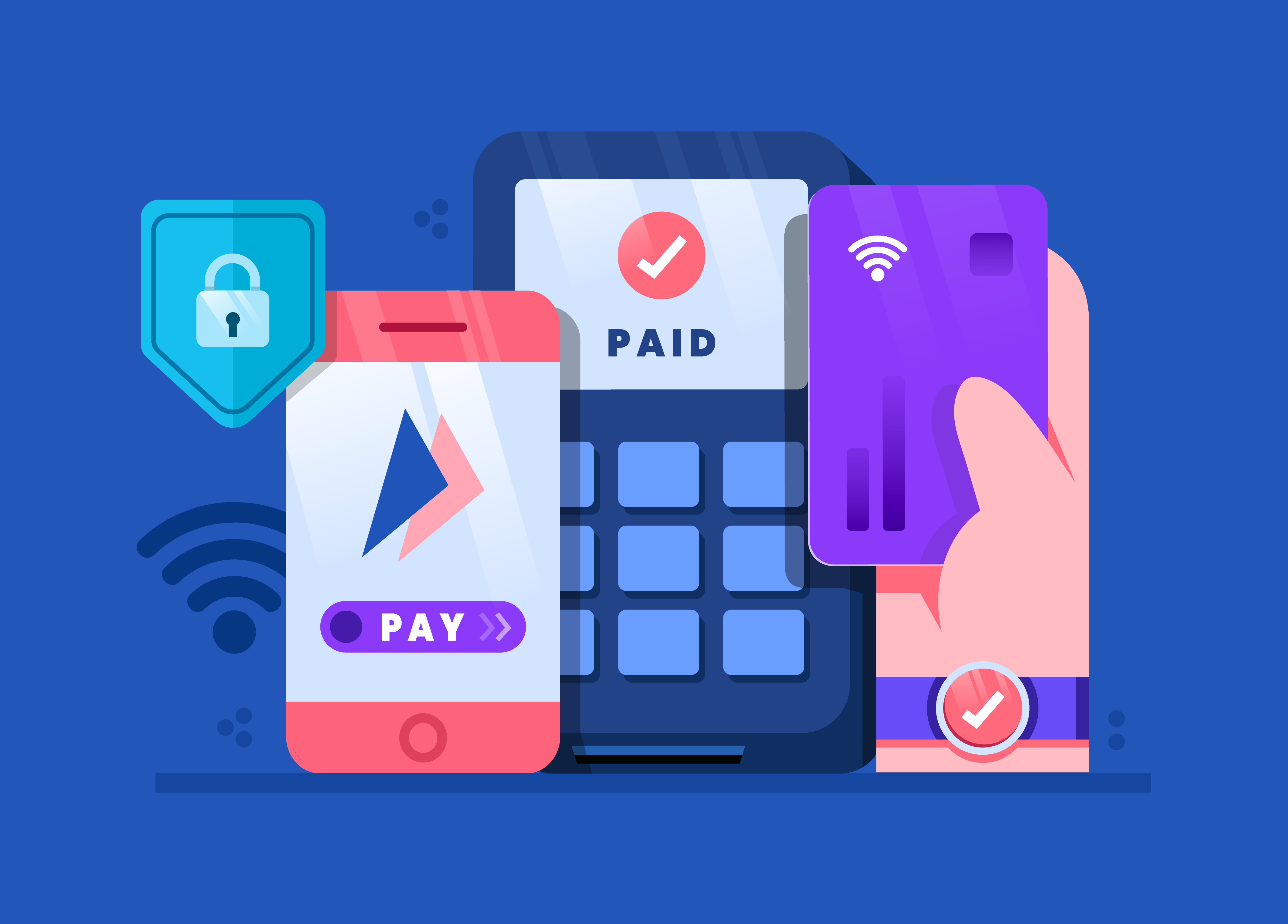 contactless payment wave - Banks